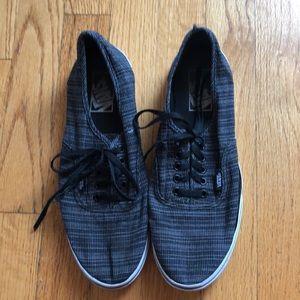 Vans Black Print Sneakers M7/W8.5